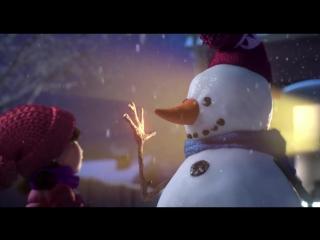 Лили и снеговик