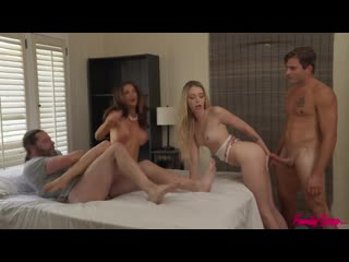 Lily Larimar, Silvia Saige - When The Swap Goes Wrong (MILF, Teen, Big Ass, Big