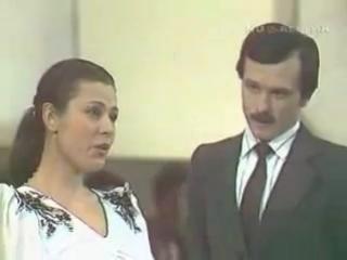 1980 г. Валентина Толкунова и Леонид Серебренников, Диалог у новогодней ёлки
