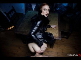 #PRon Eva Berger (GoT Sansa's Long Knight A XXX Parody / 323737)[2017 г., Blowjob, Redhead, 180, Anal, Doggystyle, TV Show]