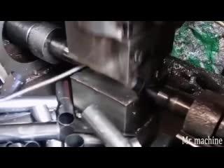 Процесс обработки металла удивителен