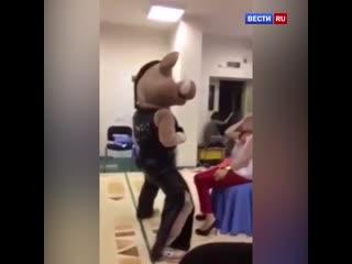"""Заведующая сургутским детсадом уволилась после """"кабаньего"""" стриптиза"""