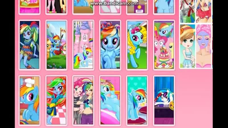 Rainbow Dash Flash Game Флэш игры про Рейнбоу Дэш 11DeadFace