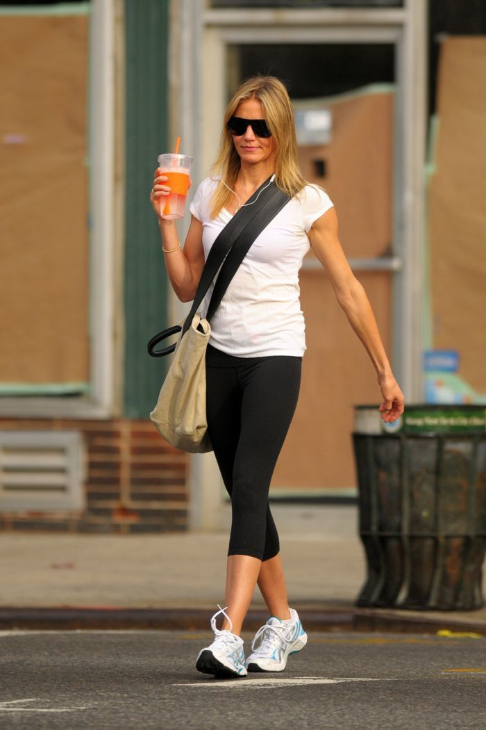 47 - летняя Камерон Диас выглядит просто потрясающе