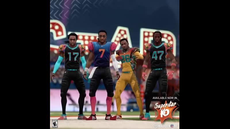 Migos и Joey Bada$$ в Madden NFL 20