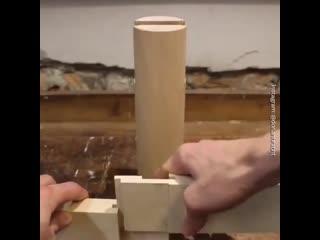 Суперпрочно и красиво - удивительные деревянные соединения -