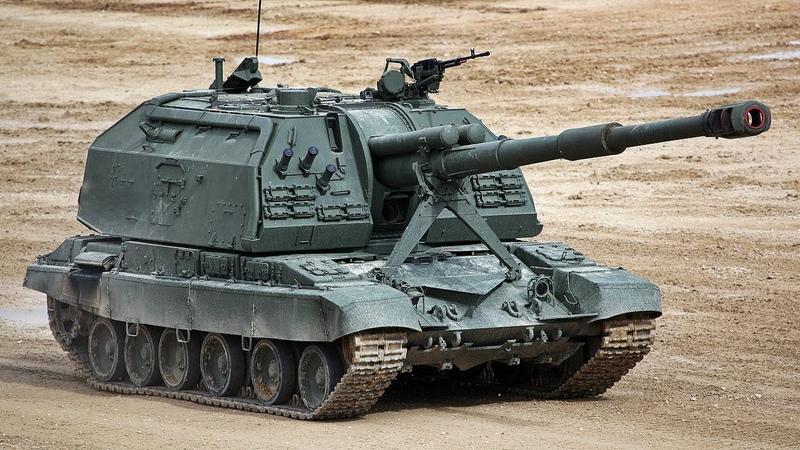 Богиня войны САУ 2С19 Мста С Msta S self propelled artillery