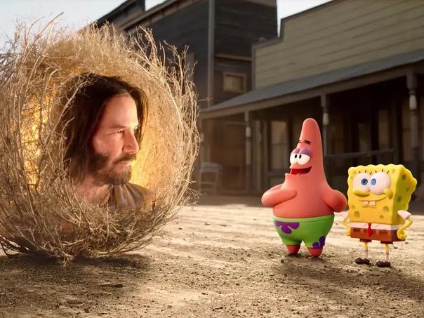 Новый полнометражный «Губка Боб» пропустит кинотеатры и выйдет в начале следующего года