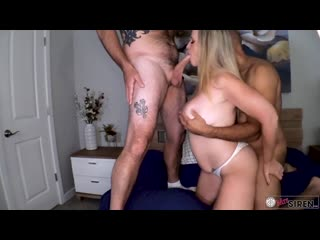 Amateur wife double teamed