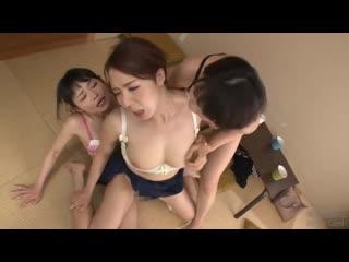 Asian lesbians | HD, Threesome, Strapon, Big tits, Milf, Orgasm, Porn, Страпон, Лесбиянки, Vibrator, Toys. Hardcore, Japanese