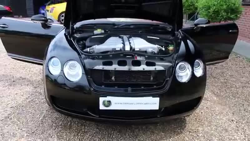 Bentley GTC 6 0 W12 Automatic in Beluga Black with Cream Leather and Red Roof