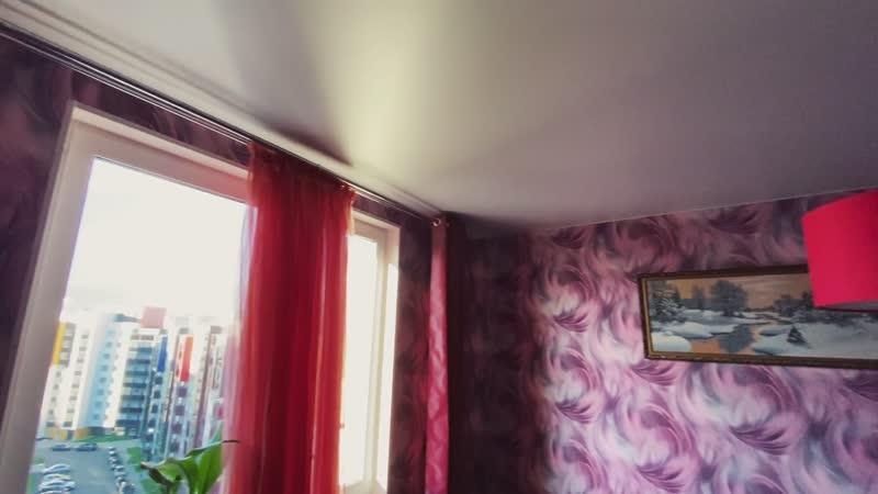 Потолки во всей квартире Ул Афанасьева д 6