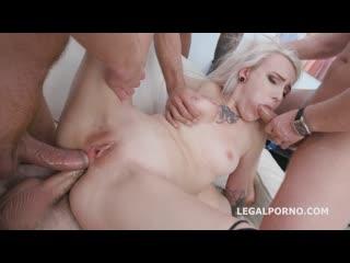 DAP Destination Ciri gets 4on1 Balls Deep Anal, DAP, Gapes and Facial - Rough Sex Gangbang Blonde Big Dick Cock Teen Porn, Порно