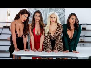 Bridgette B, Katana Kombat, Luna Star, Victoria June - Office 4-Play: Latina Edition    Sex Big Tits Ass Porn Порно