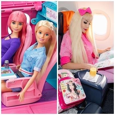 Живая кукла Барби, Таня Тузова.