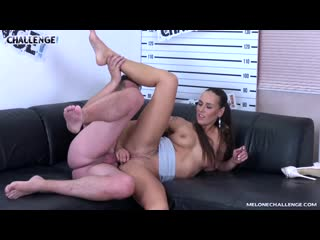 Super Hot Pornstar Mea Melone Ride Agents Cock with her Ass
