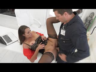 Bella Rolland - Gets The Janitor To Fuck Her Ass [All Sex, Hardc