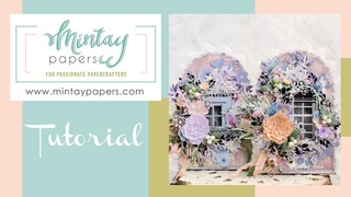 #68 | House shaped cards with Dreamer collection | Daria Schukina