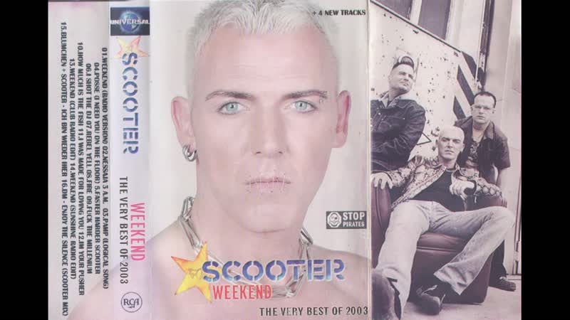 Scooter Weekend The Very Best Of 2003 MC Unofficial Release