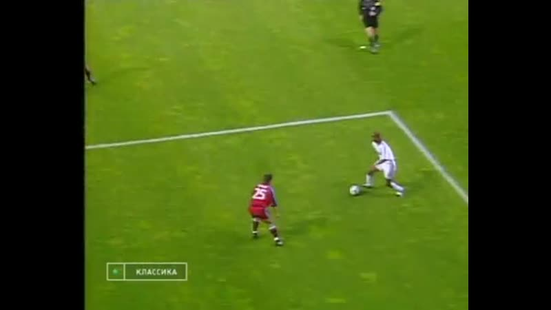 ЛЧ 1999-2000 1-2 финала Первый матч Реал - Бавария 1 тайм
