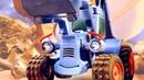 Мультики для малышей про Синий Трактор— Космическая история настройке— Мультсериал про машинки