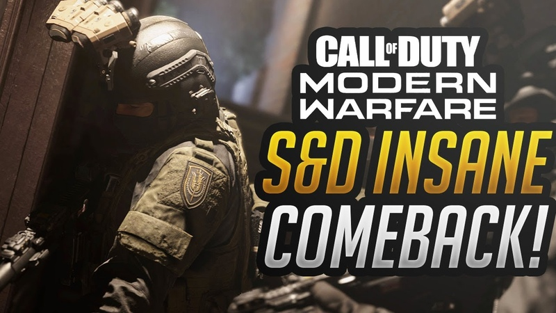 Call of Duty Modern Warfare S D Insane Comeback