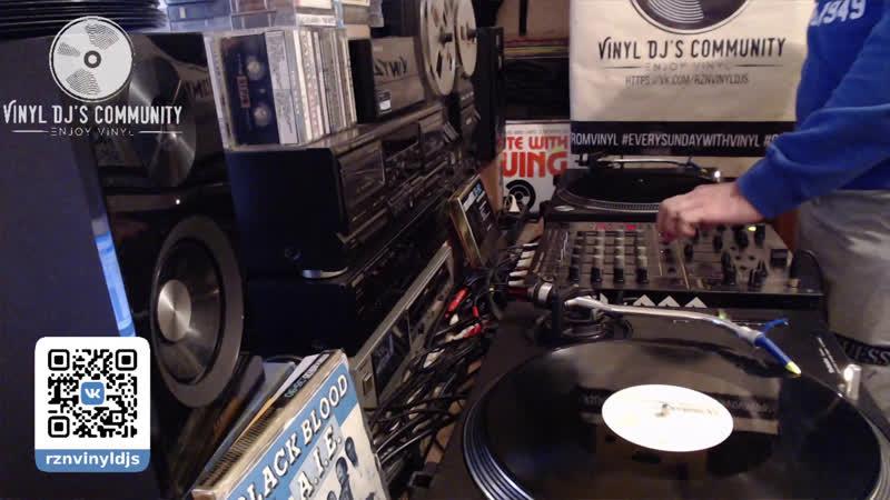 DJ YURA ONEGIN VINYL LIVE MIX 24 05 2020