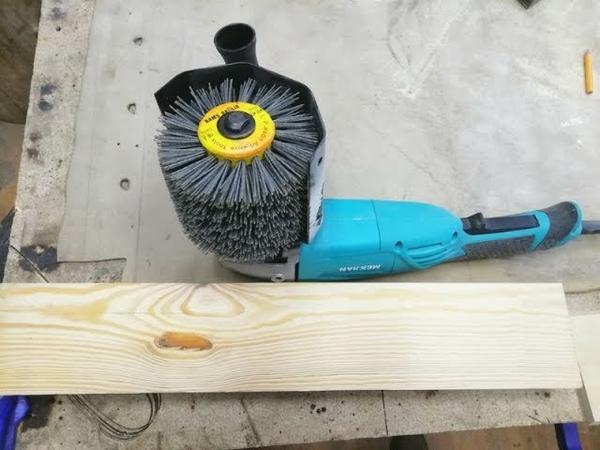 Щетка для браширования защита и удлинитель вала с Алиэкспресс Обзор Тест