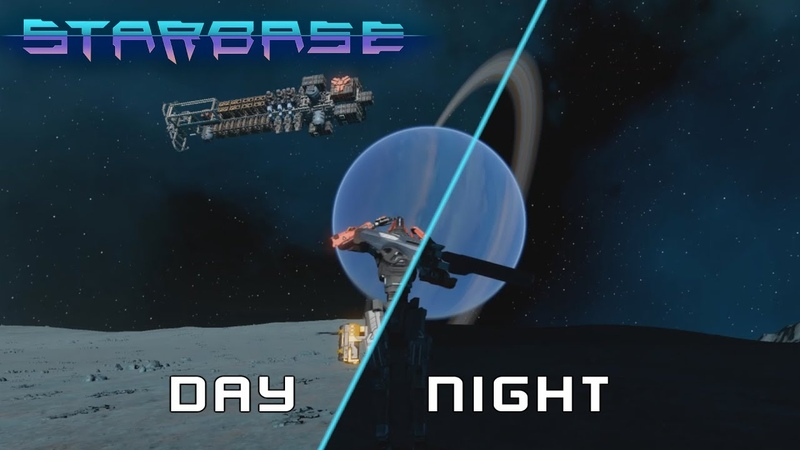 Starbase Closed Alpha - Day and night timelapse from moon