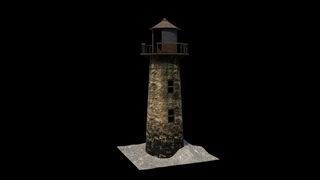 Creating An Old Abandoned Lighthouse in Autodesk Maya and Substance Painter | Part : 1 - Modeling