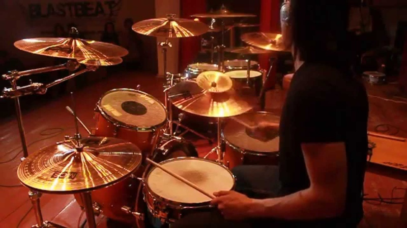 Blessthefall – Guys Like You Make Us Look Bad (diesel drum cover)