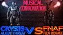 Музыкальное Противостояние - Crysis Инопланетная Угроза vs. Пять Ночей с Фредди Ремейк RUS