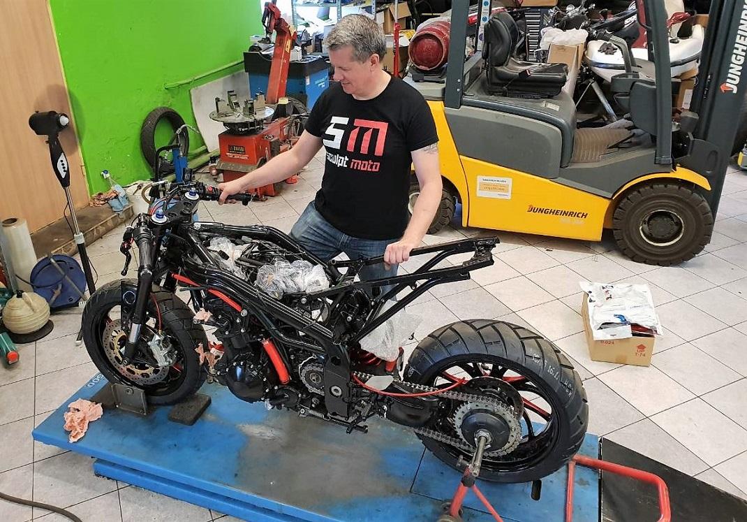 Видов ремонта мотоциклов очень много