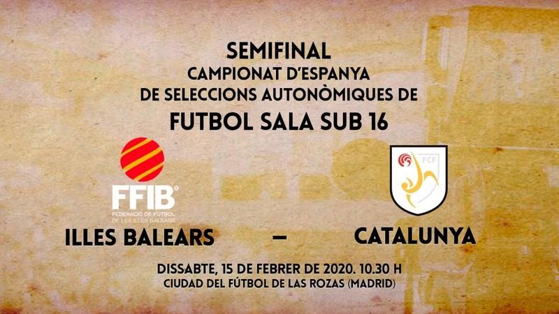 Illes Balears Catalunya Semifinal Campionat Espanya Sel Aut Sub 16