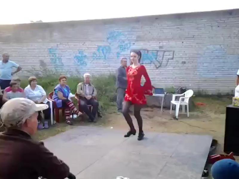 Очень талантливая девочка