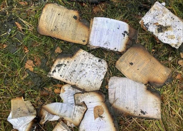 На свалке нашли полицейский архив на петербуржцев....