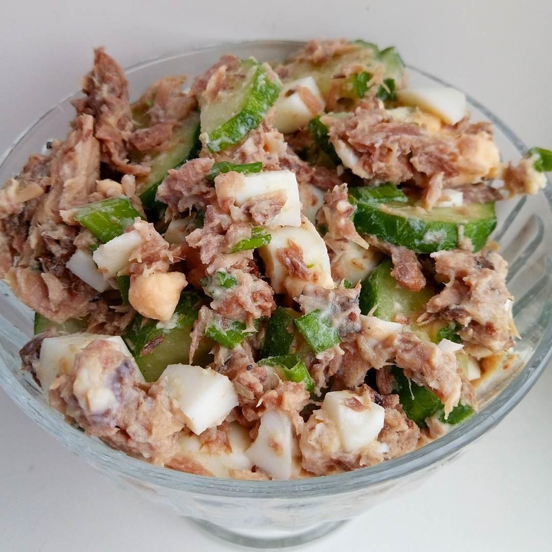 Вкусный салатик из тунца