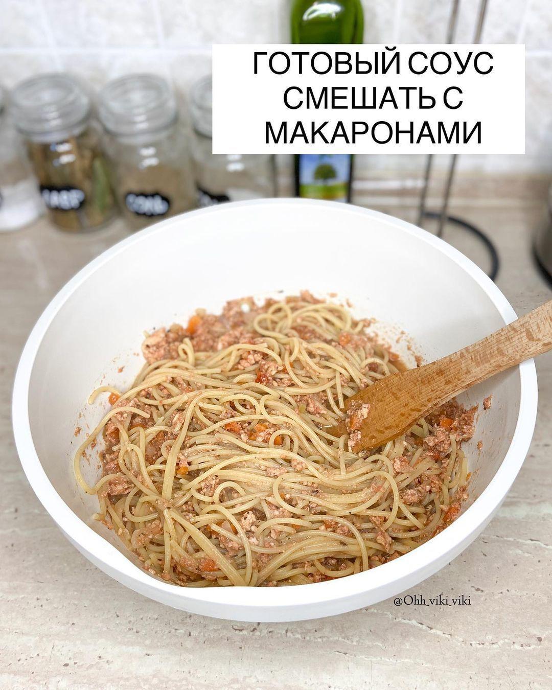 Сочный соус к макаронам