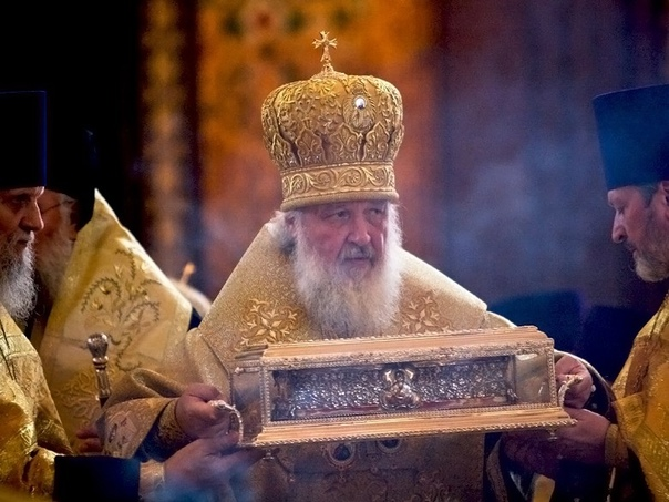 Патриарх Кирилл отметил роль «Газпрома» в духовном возрож...