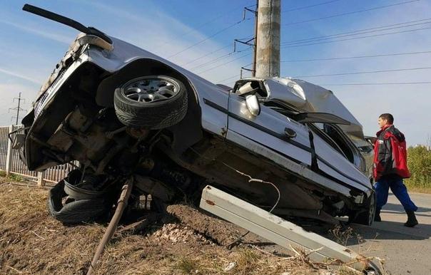 В Самарской области автомобиль «Волга» превратился...