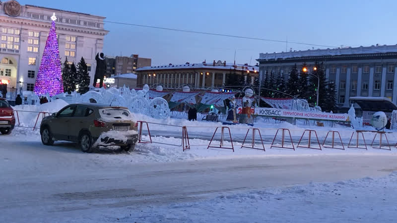 Елка в Кемерово