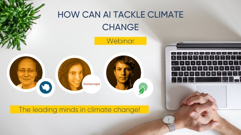 How Can AI Tackle Climate Change Expert Webinar
