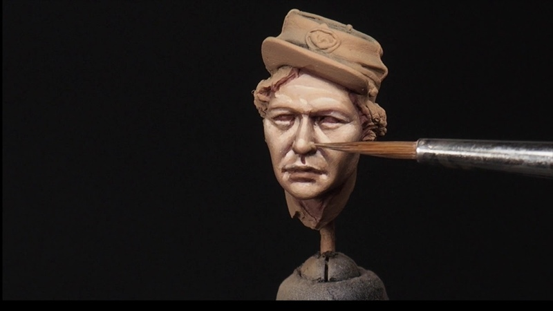 PAINTING A FACE IN 75mm PART 2 BLENDING AND ADDING EFFECTS