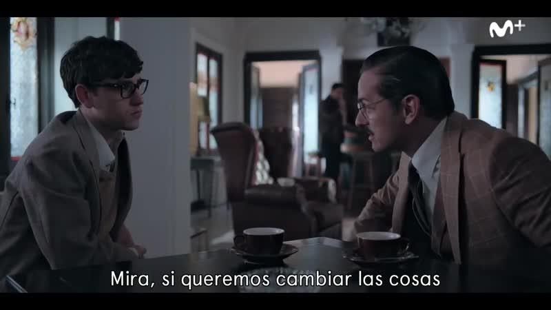 Невидимая линия La línea invisible Трейлер сериала