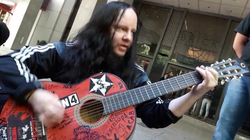 Joey Jordison sic Slipknot acustico