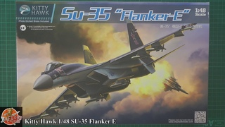 Kitty Hawk 1/48 SU-35 Flanker E review