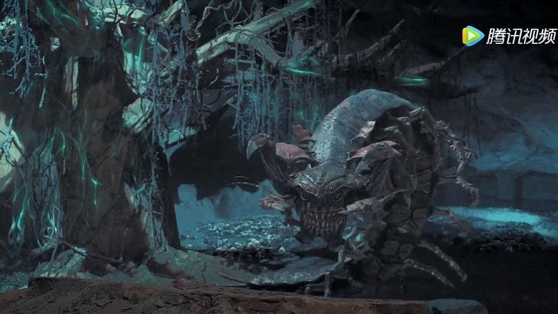 """《鬼吹灯之怒晴湘西Candle In The TombThe Wrath Of Time》男主三人冲破困境,结果发现""""逆世界"""""""