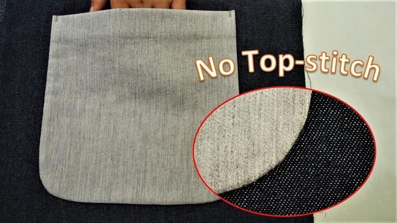 How to sew a Bluff Patch Pocket