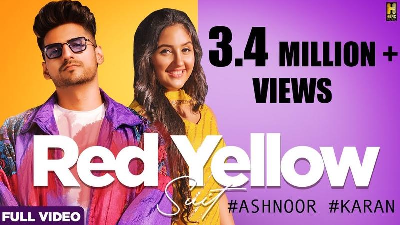 Red Yellow Suit Song Karan Singh Arora Ft Ashnoor Kaur S Mukhtiar DjUpsideDown Hero Music