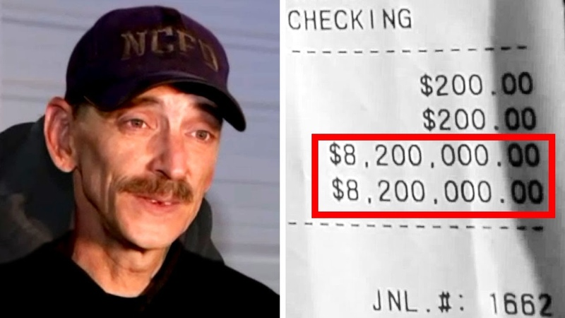 WOW! Man Waiting For Stimulus Check Finds $8.2 Million in Bank Account - Weird News 1